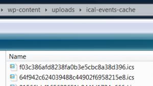cache folder