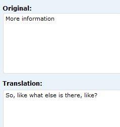 enter a translation